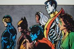 Free Marvel Comic Xmen Royalty Free Stock Photos - 173547048