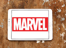Marvel logo Stock Photo