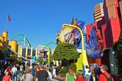 Marvel Super Hero Island, Universal Orlando, FL, USA. Marvel Super Hero Island in Universal Studios Florida in Orlando, Florida, USA stock images