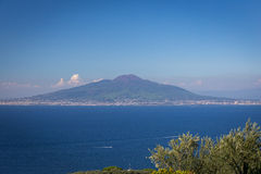 Marvellous Mount Vesuvius Royalty Free Stock Photography
