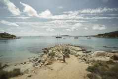The marvelous coasts of Sardinia stock photo