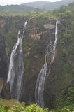 The marvelous and gigantic jog falls Stock Photos