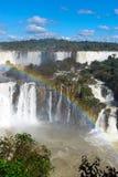 The marvelous Iguazu falls Royalty Free Stock Photo