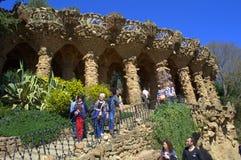 Marvelous Park Guell ,Barcelona Stock Image