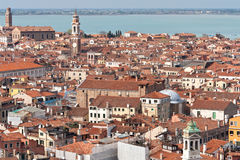Marvelous point of view from Campanile, Italy Royalty Free Stock Image