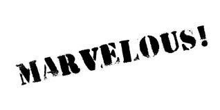 Marvelous rubber stamp Stock Photo