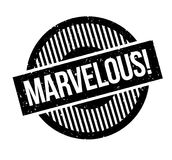 Marvelous rubber stamp Royalty Free Stock Images