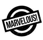 Marvelous rubber stamp Royalty Free Stock Photo