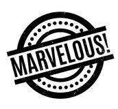 Marvelous rubber stamp Stock Images