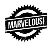 Marvelous rubber stamp Royalty Free Stock Photography