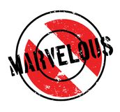 Marvelous rubber stamp Royalty Free Stock Photos