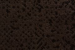Marvelous textile background with dark brown surface. High resolution photo royalty free stock image