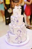 Marvelous Wedding Cake Royalty Free Stock Image