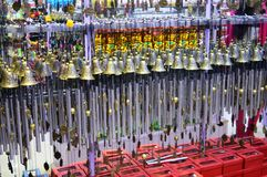 Marvelous Wind Chimes Decoration Royalty Free Stock Photography