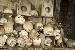 Marville ossuary Royalty Free Stock Image