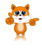 Marvin Cat Illustration Toon Cartoon Character Lizenzfreie Stockfotografie