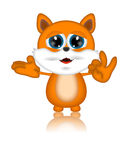 Marvin Cat Illustration Toon Cartoon Character. 3d Stock Photography