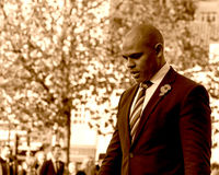 Marvin Rees Bristol Mayor on Remembrance Sunday E Stock Photos