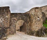 Marvão entrance gate Stock Images