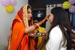 Marwari Family Royalty Free Stock Image