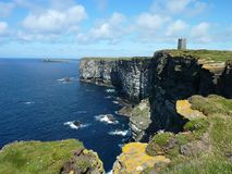 Marwick Head on the Orkneys Stock Image