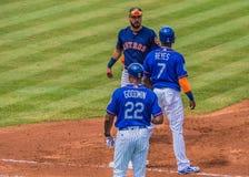 Marwin Gonzalez Houston Astros - allenamento primaverile Fotografie Stock Libere da Diritti