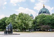 Marx και Engels Στοκ φωτογραφία με δικαίωμα ελεύθερης χρήσης