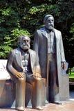 The Marx-Engels Forum Stock Photo