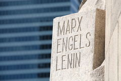 Marx Engels Lenin Royalty Free Stock Images