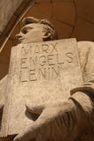 Marx Engels Lenin Royalty Free Stock Photo