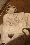 Marx Engels Lenin royalty free stock photo