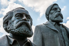Marx and Engels Royalty Free Stock Image