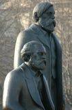 Marx Engels Memorial Berlin Royalty Free Stock Photo