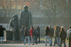 Marx Engels Memorial Berlin Royalty Free Stock Photos
