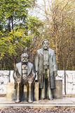 Marx-Engels-Monument in Germany Berlin Stock Photography