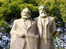 Marx-Engels Statue Stock Image