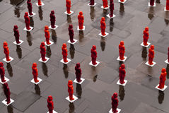 Marx Installation in Trier Royalty Free Stock Image