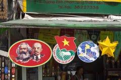 Marx och Lenin arkivfoto