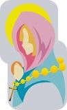 Mary Άγιος ελεύθερη απεικόνιση δικαιώματος