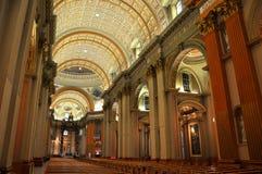 Mary βασίλισσα του παγκόσμιου καθεδρικού ναού, Μόντρεαλ Στοκ εικόνες με δικαίωμα ελεύθερης χρήσης