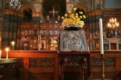 Mary Ιησούς Icon Saint Sophia Cathedral Στοκ Φωτογραφίες