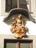 Mary με τον Ιησού και τα χερουβείμ Στοκ φωτογραφίες με δικαίωμα ελεύθερης χρήσης