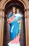 Mary, μητέρα του Θεού Στοκ Φωτογραφίες