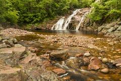 Mary Ann Falls colorida fotografia de stock