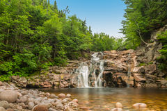 Mary Ann Falls. (Highlands National Park, Cape Breton, Nova Scotia, Canada royalty free stock photo