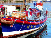Mary Ann Hepworth livräddningsbåt, Whitby. Arkivfoto