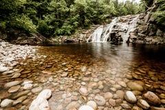 Mary Anne Falls, Cape Breton Stock Image