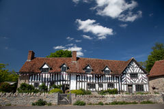 Mary Arden's Farm and house. Where William Shakespeare's mother grew up England UK Royalty Free Stock Photo