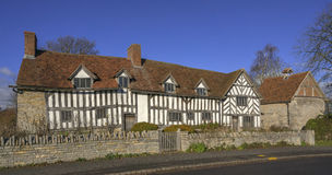 Mary Arden's House Royalty Free Stock Photos