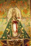 Mary Baby Jesus Crowns Statue Basilica Collegiata Madrid Spain Stock Photography